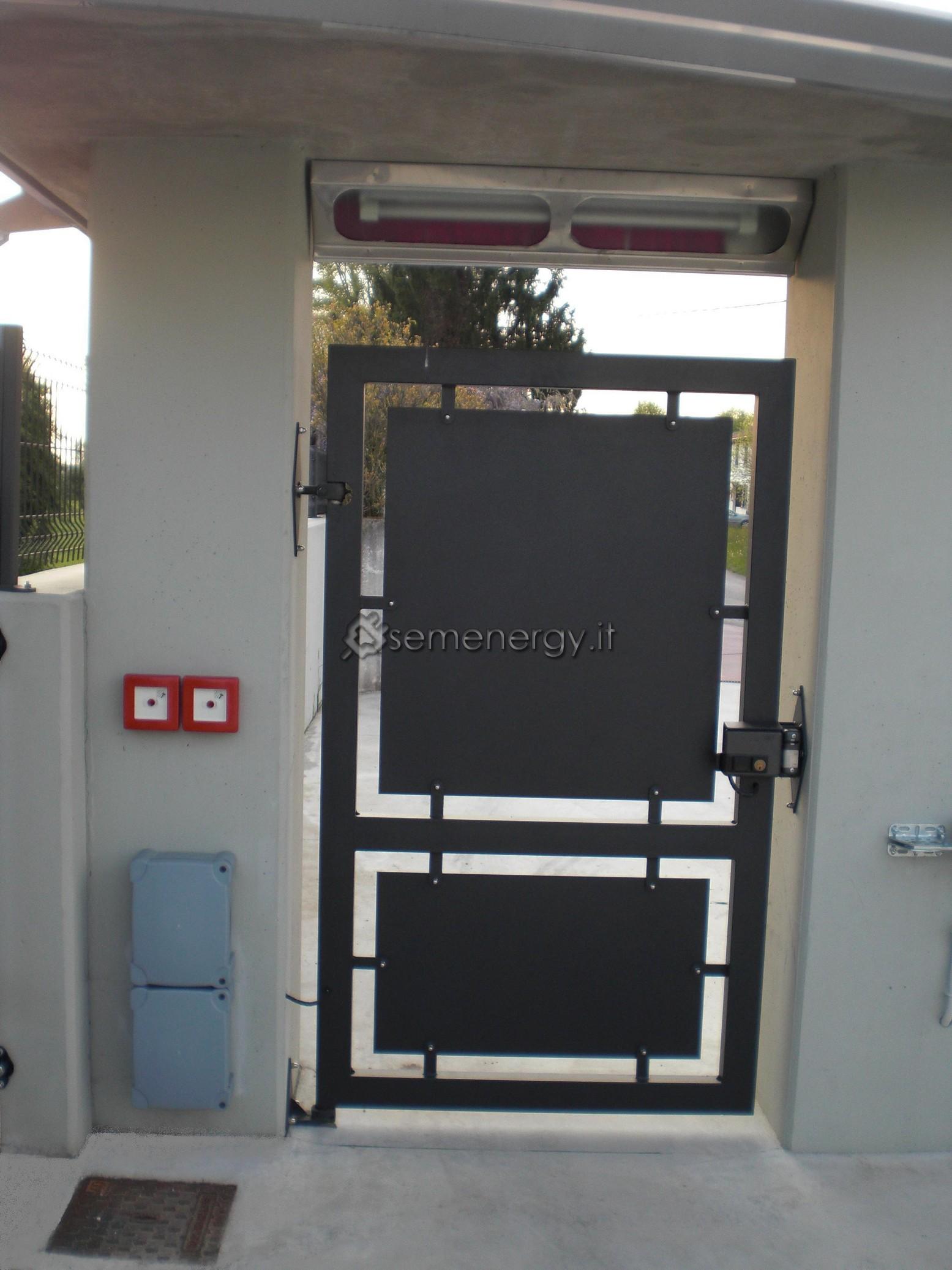 Nuova installazione automazione cancello ingresso e - Cancello porta ingresso ...