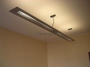 Installazione lampade ufficio.