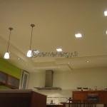 Installazione luci zona living.